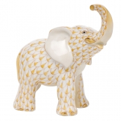 Herend Young Elephant Young Elephant - Butterscotch