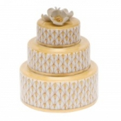 Herend Wedding Cake Butterscotch