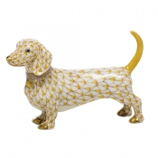 Herend Dachshund - Butterscotch
