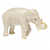 Herend Asian Elephant Butterscotch