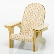 Herend Adirondack Chair Butterscotch