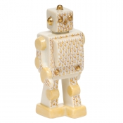 Herend Toy Robot - Butterscotch