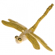 Herend Dragonfly Butterscotch