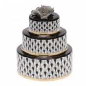 Herend Wedding Cake Black
