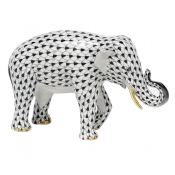 Herend Asian Elephant Black
