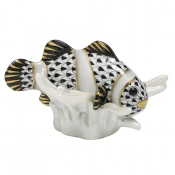 Herend Clownfish - Black