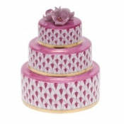 Herend Wedding Cake Raspberry