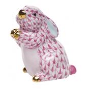 Herend Pudgy Bunny Pink