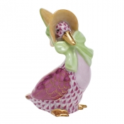Herend Mother Goose - Raspberry