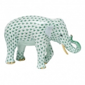 Herend Asian Elephant - Green