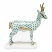 Herend Cuviers Gazelle - Green