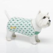 Herend West Highland Terrier - Green