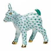 Herend Baby Goat Green