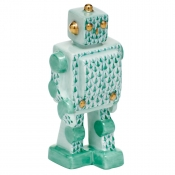 Herend Toy Robot - Green