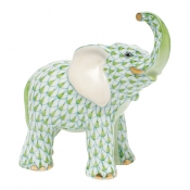 Herend Young Elephant Young Elephant - Key Lime