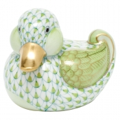 Herend Dapper Ducky - Key Lime
