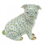 Herend Bulldog Puppy - Key Lime