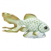 Herend Fantail Goldfish - Key Lime