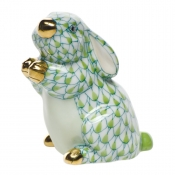 Herend Pudgy Bunny Key Lime