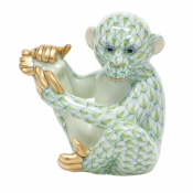 Herend Baby Chimpanzee - Key Lime