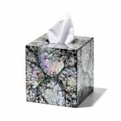 LaDorada Mother of Pearl  Tissue Box