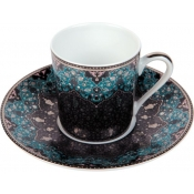 Dhara Peacock Coffee Cup ( demitasse)