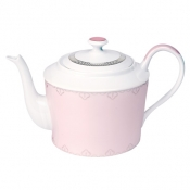 Margot Pink  Round Tea Pot
