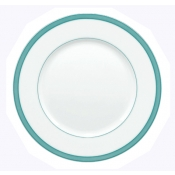 Tropic Turquoise Bread And Butter Plate