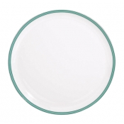 Tropic Turquoise Round Flat Cake Plate