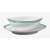 Tropic Turquoise Sauce Boat