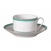 Tropic Turquoise Breakfast Saucer