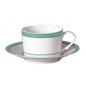 Tropic Turquoise Tea Saucer Extra