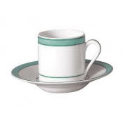 Tropic Turquoise Coffee Saucer