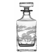 Safari Square Whiskey Decanter