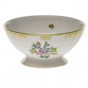 "Queen Victoria - Modified FOOTED BOWL 5""D X 2.5""H"