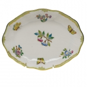 "Queen Victoria - Modified SMALL OVAL DISH 7.5""L X 1.5""H"