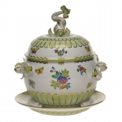 Queen Victoria - Modified TUREEN & PLATTER  (4 QT) 12.25