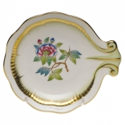 Herend Large Shell Dish - Flower 3