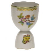 "Queen Victoria DOUBLE EGG CUP  4""H"