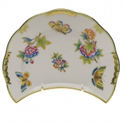 "Queen Victoria CRESCENT SALAD  7.25""L X 5""W"