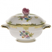 Queen Victoria COV CUP W/ROSE LID - KIT (8 OZ