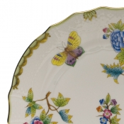Queen Victoria COV BOUILLON LID ONLY W/ROSE