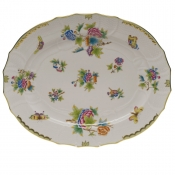 "Queen Victoria TURKEY PLATTER  18""L X 14.5""W"