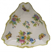 "Queen Victoria TRIANGLE DISH  9.5""L"