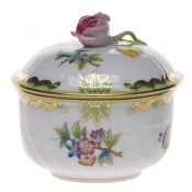 Queen Victoria COV SUGAR W/ROSE  (4 OZ) 3.25""