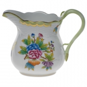 "Queen Victoria MILK PITCHER  (16 OZ) 4.25""H"