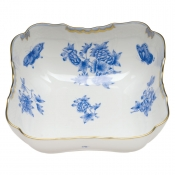"Fortuna Blue SQUARE SALAD BOWL 10""SQ"