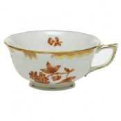 Herend Fortuna Rust Tea Cup - 8 oz.