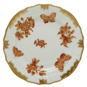 Herend Fortuna Rust Bread & Butter Plate - 6""