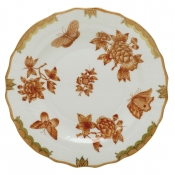 Herend Fortuna Rust Salad Plate - 7.5""